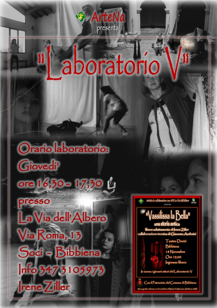 laboratorio V autunno 2017