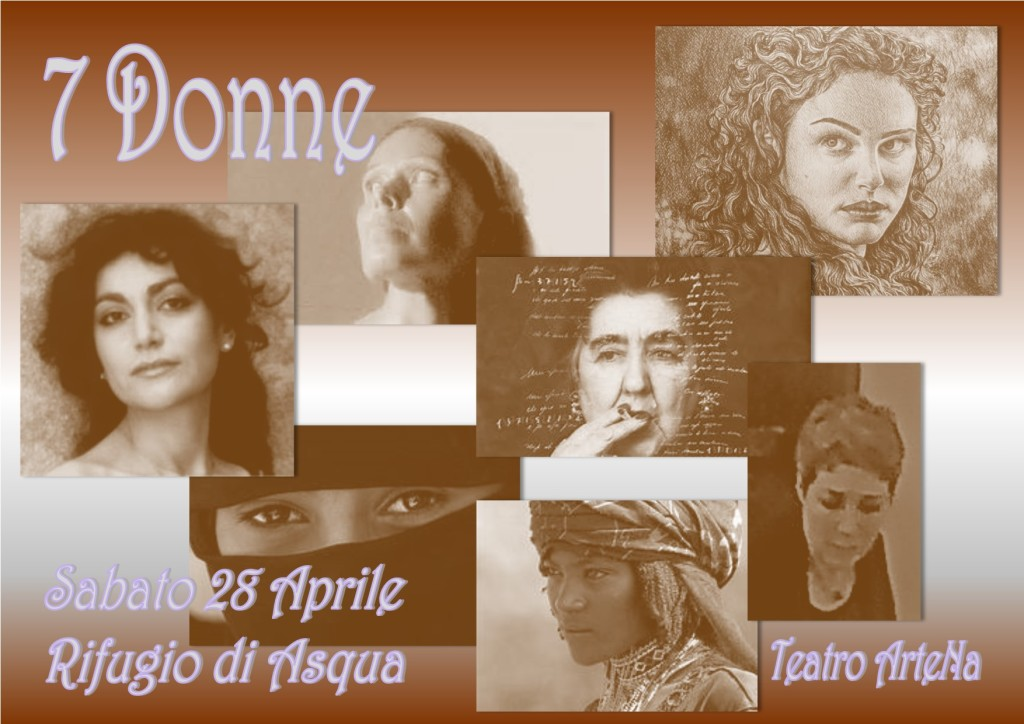 MIX 7 Donne marrone